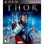 Jogo Semi Novo Thor God Of Thunder 3d Ps3 Playstation 3