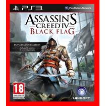 Assassins Creed 4 Black Flag - Ac4 - Dublado Em Pt-br - Ps3
