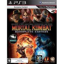 Mortal Kombat Komplete Ps3 Legendado Pt-br Original Via Psn