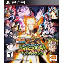 Naruto Shippuden Ultimate Ninja Storm Revolution Ps3 12x S/j