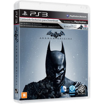 Batman Arkham Origins Português Ps3 Blu-ray Game Original