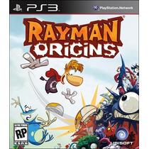 Rayman Origins Ps3 Ubi Playstation 3