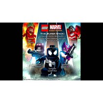 Dlcs Lego Marvel Super Heroes Super + Asgard Pack Ps3 + Mc3