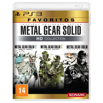 Metal Gear Solid Hd Collection Ps3 Em 12x Sem Juros