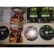 Uncharted 3 Drake Deception Exclusivo Para Ps3 Frete Grátis.