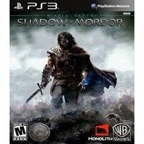 Middle Earth Shadow Of Mordor Legion Edition Ps3 - Promoção