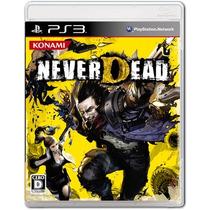 Ps3 Never Dead Original - Novo - Lacrado
