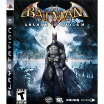 Batman Arkham Asylum Ps3 (codigo Psn) Envio Imediato