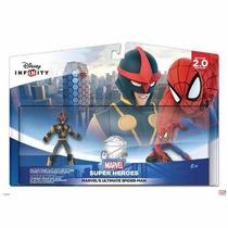 Kit Boneco Disney Infinity 2.0 Ultimate Spider Man Pack