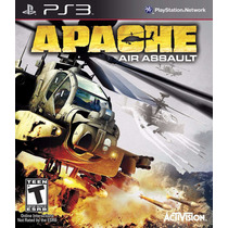 Jogo Novo Lacrado Apache Air Assault Para Playstation 3 Ps3
