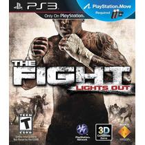 The Fight: Lights Out Ps3 Jogo Luta Lacrado Pronta Entrega
