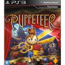 Puppeteer Jogo Em Português Playstation 3 Infantil Psmove-3d