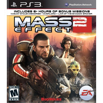 Mass Effect 2 - Jogo Para Playstation 3 - Ps3