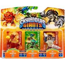 Boneco Skylanders Giants Eruptor Stealh Terrafin Ps4 Ps3 Kit