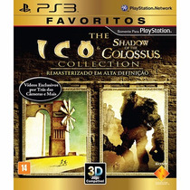 The Ico & Shadow Of The Colossus Playstation 3 Ps3 3d Novo
