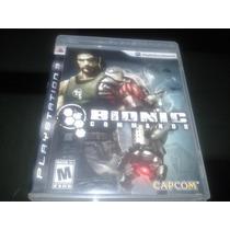 Bionic Commando Ps3 Venda / Troca