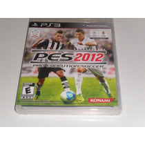 Pes 2012 - Pro Evolution Soccer 2012 Ps3 - Novo/lacrado