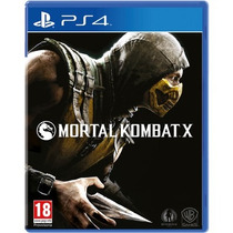Pré-venda Mortal Kombat X - Ps4 Mania Virtual