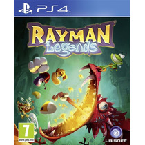 Rayman Legends Ps4 Playstation 4