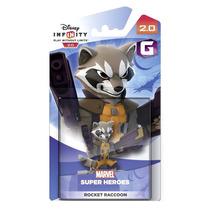 Novo Boneco Disney Infinity 2.0 Single Figure Rocket Racoon