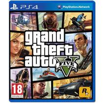 Gta 5 V Ps4 Grand Theft Auto V Pt Br Lacrado Receba Rapido!
