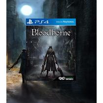 Bloodborne Pt-br Ps4 + Dlc Pré-venda Código Psn