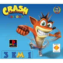 Colecão Crash Trilogia Patch Crash Collection Ps1