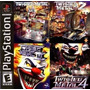 Kit Twisted Metal 1234 Para Play1 E Ps-one Patch 4jogos