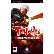 Jogo Tenchu Shadow Assassins - Psp - Sony - Oferta!!!