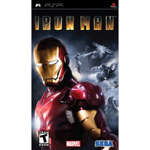 Iron Man 2 Psp Playstation Jogo Game
