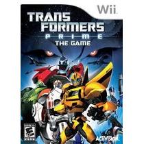 Jogo Novo Transformers Prime The Game Para Nintedo Wii