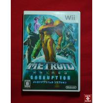 Metroid Prime 3 - Corruption - Original Para Nintendo Wii Jp