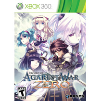 Jogo Novo Record Of Agarest War Zero Para Xbox 360 Ntsc
