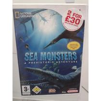 Sea Monsters Wii Pal Europeu Zerado Digno Coleção Raridade