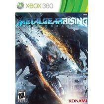 Metal Gear Rising: Revengeance - Xbox 360 - Legendado Em Pt.