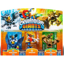 Kit Skylanders Giants Sonic Boom Sprocket Stump Xbox 360