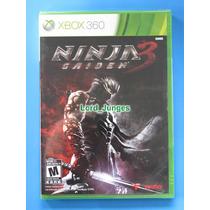 Ninja Gaiden 3 - Xbox 360 - Lacrado - Pronta Entrega !!!