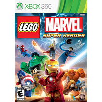 Lego Marvel Super Heroes Xbox 360 - E-sedex Ou Pac