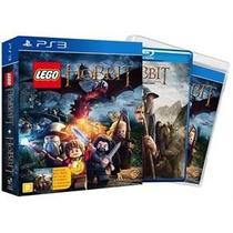 Jogo Lego Hobbit Ed.limitada Ps3 - Totalmente Português
