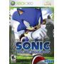 Sonic The Hedgehog Ntsc Xbox 360 Lacrado Pronta Entrega