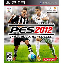 Jogo Pro Evolution Soccer 2012 - Pes 2012 Playstation 3 Novo