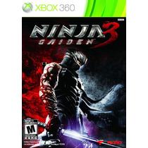 Game Ninja Gaiden 3 Para Xbox 360