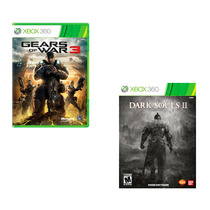 Combo Dark Souls 2 + Gears Of Wars 3 - Xbox 360