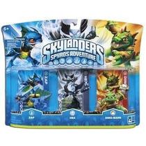 Kit Com 3 Skylanders Spyro