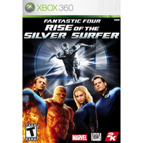 Fantastic 4 Rise Of The Silver Surfer - Xbox 360 - Ntsc