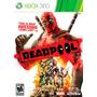Jogo Novo Lacrado Deadpool: The Game Para Xbox 360 Ntsc