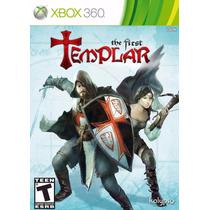 The First Templar Capa Luxo Lacrado - Xbox 360 - Ntsc