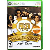 World Series Of Poker 2007 Edition Original Xbox 360 Ntsc