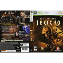 Clive Barkers Jericho Xbox 360 Original Frete R$7,00