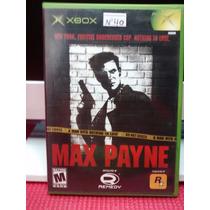 Max Payne De Xbox Primeira Geração